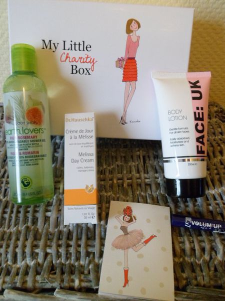 produits beauté charity box