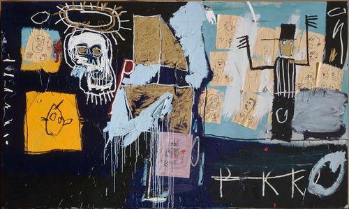 23 Basquiat 82 Marché aux esclaves Pompidou
