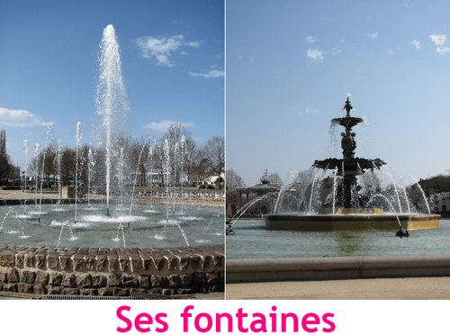 Carte Fontaines