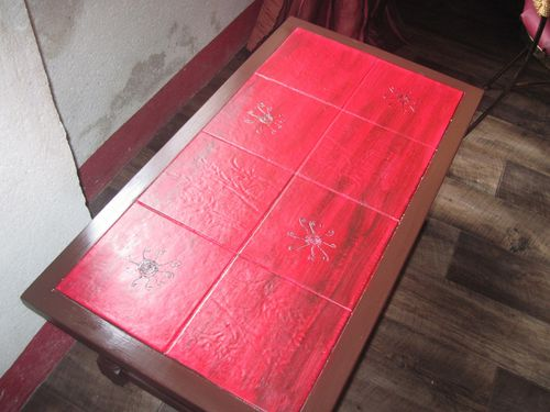 Relooking Table De Salon Le Final DECO A LA MAISON