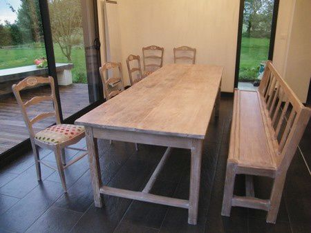 table chaise relookes