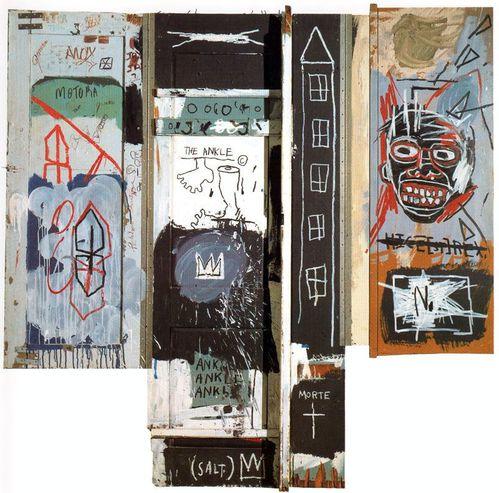 33 Basquiat sculpteur 82 Portrait de l'artiste en jeune aba