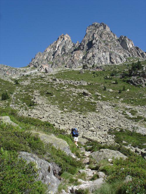 Pyrénées : Lacs de la Cardinquère:Embarrat (2078m)-Pourtet (2420m)-Nère (2309m) 17