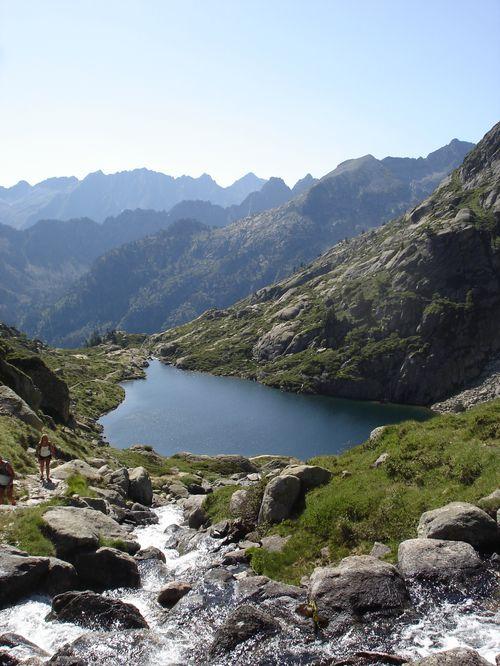 Pyrénées : Lacs de la Cardinquère:Embarrat (2078m)-Pourtet (2420m)-Nère (2309m) 23