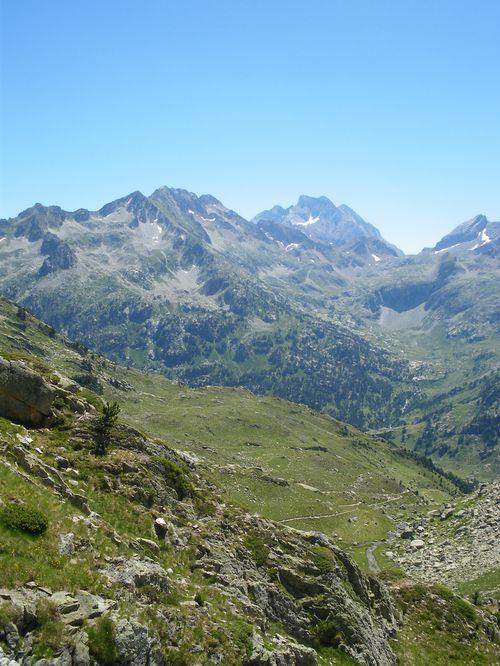 Pyrénées : Lacs de la Cardinquère:Embarrat (2078m)-Pourtet (2420m)-Nère (2309m) 43