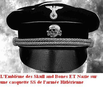 Skull and Bones AND Nazi
