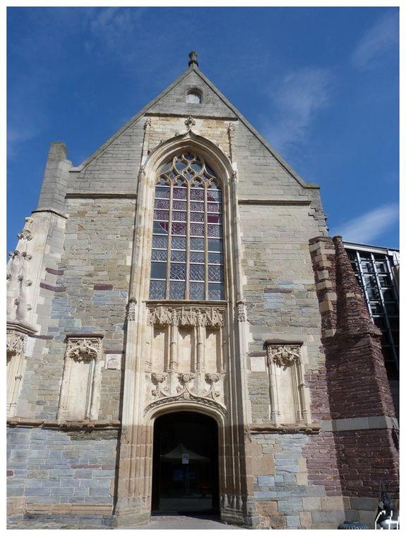 Rennes l'ancienne chapelle de l'hopital Saint-Yves