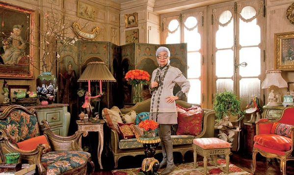 Iris Apfel Son Appartement Excentrique New York Le