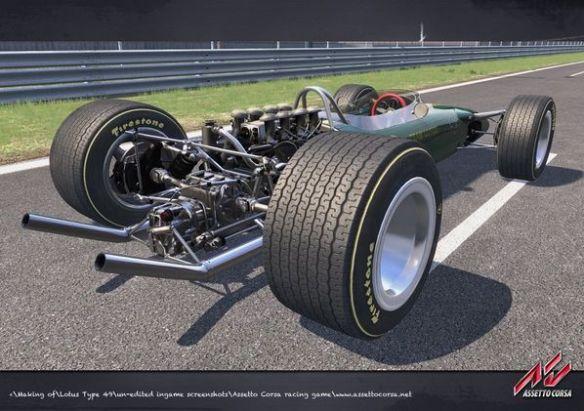 Juste avant le début de l'ère des ailerons, la Lotus 49 préfigurait les monoplaces modernes.