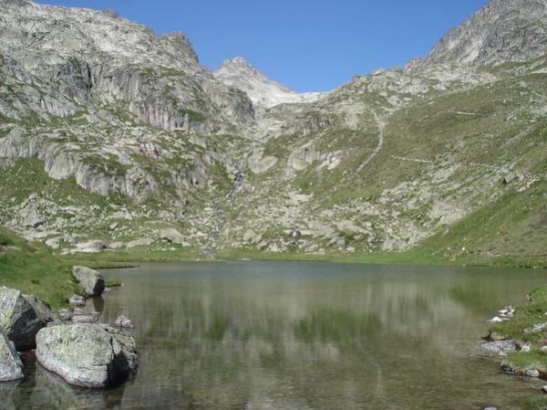 Pyrénées : Lacs de la Cardinquère:Embarrat (2078m)-Pourtet (2420m)-Nère (2309m) 24