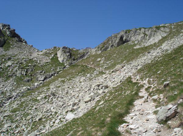 Pyrénées : Lacs de la Cardinquère:Embarrat (2078m)-Pourtet (2420m)-Nère (2309m) 31