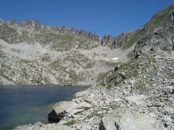 Pyrénées : Lacs de la Cardinquère:Embarrat (2078m)-Pourtet (2420m)-Nère (2309m) 35