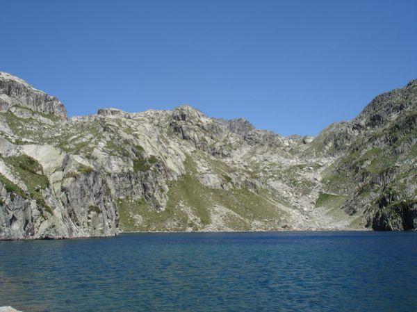 Pyrénées : Lacs de la Cardinquère:Embarrat (2078m)-Pourtet (2420m)-Nère (2309m) 42