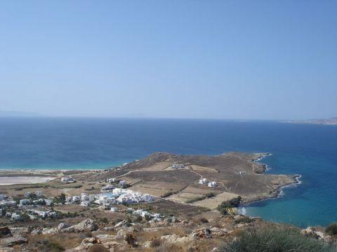 Naxos: Presqu'île de Prokopios et plage d'Agia Anna 14