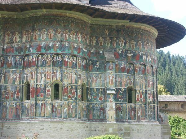 Les premiers monastères orthodoxes peints de Bucovine : Moldovitsa, Sucevita, Solé 7