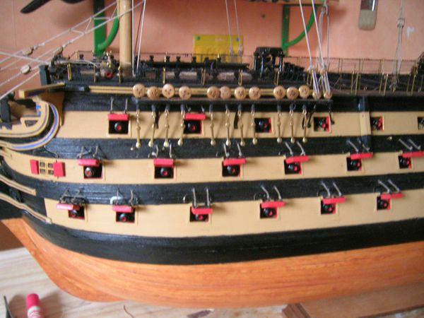 HMS Victory Le Greement Le Blog De Joel59