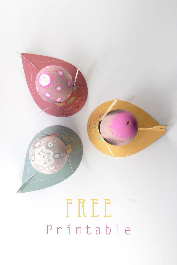 free printable eggcup 2