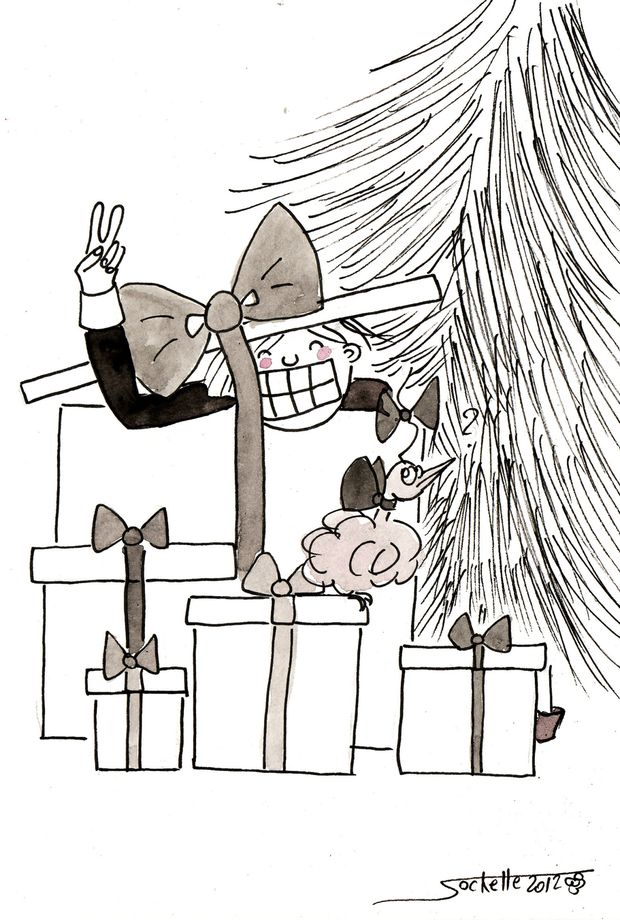 wilfried et théo - cadeau