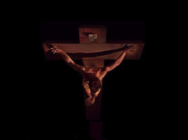Cristo crucificado dali