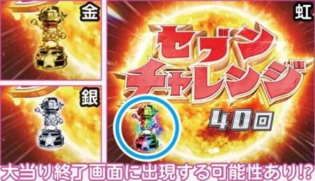 新台 PAぱちんこウルトラセブン2 Light Version 設定示唆演出