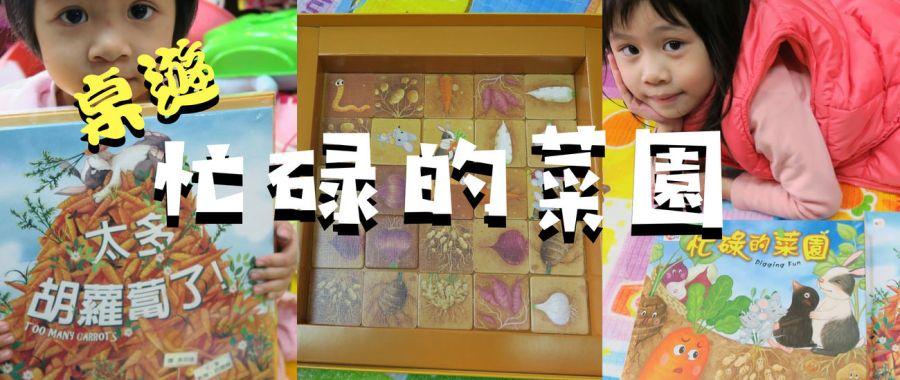 【愛桌遊】忙碌的菜園+太多胡蘿蔔了,又有故事又有得玩超划算!!