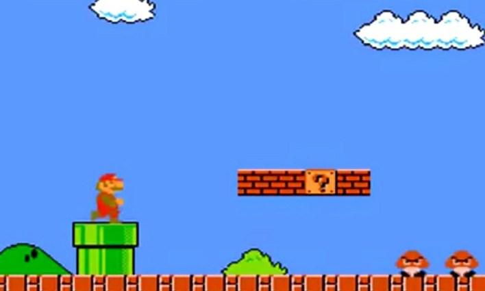 Süper Mario!
