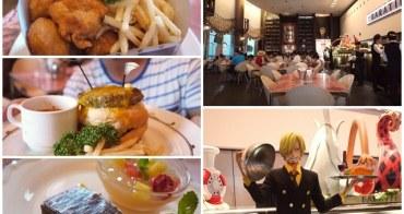 日本東京台場美食 海賊王香吉士海上餐廳BARATIE~阿一一日本東京自助之旅