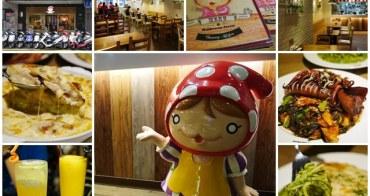 台北車站美食 蘑菇森林義大利麵坊 超大墨魚排/帕瑪森雞排(已搬家)~雙主餐義式料理,可愛實在用心