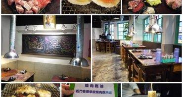 台北西門町 燒肉教室~起立、立正、敬禮,吃燒肉