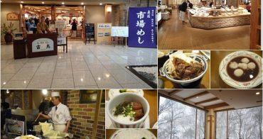 日本北海道 層雲峽朝陽亭 雷鳥餐廳Buffet~阿一一北海道冬季賞雪之旅
