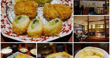 台北車站美食 銀座杏子日式豬排(台北京站店)~多汁的金黃香酥,驚艷地瓜冰淇淋
