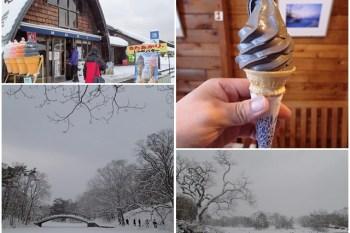 日本北海道 大沼公園&MORI 墨魚霜淇淋~阿一一北海道冬季賞雪之旅