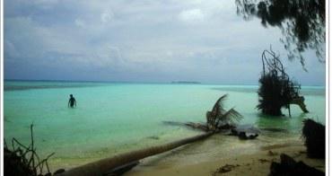 帛琉 Kemurbeab 長沙島 午餐(內有辣妹)~阿一一帛琉藍色海洋之旅
