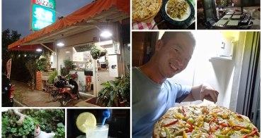 新北三芝美食 米雅手工披薩/義式料理/手工餅乾~激推和風章魚燒披薩