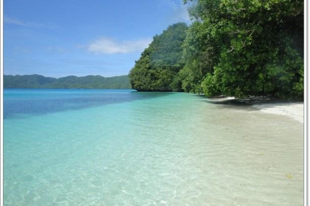 帛琉 Ngeremdiu島 超柔細的白色沙灘~阿一一帛琉藍色海洋之旅