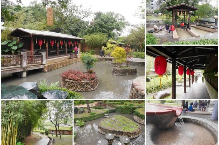 宜蘭礁溪景點 礁溪溫泉公園/森林風呂~免費溫泉泡腳池,濃濃日式風情