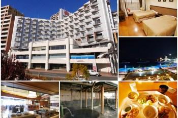 靜岡熱海住宿 Atami Seaside Spa & Resort 海景溫泉飯店 雙人房/早餐buffet~春日賞櫻花,夏天大海玩水去