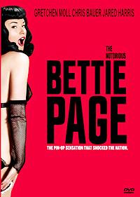 Cartel de la pelicula The Notorious Bettie Page