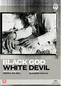 Cartel de la película Dios y Diablo en la tierra del sol