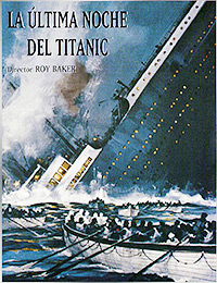 Cartel de la película La última noche del Titanic