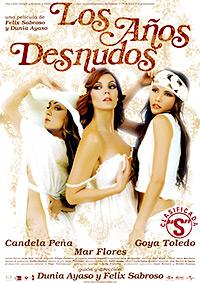 """Cartel de la película Los años desnudos """"Clasificada S"""""""