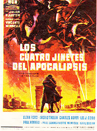 Cartel de la película Los cuatro jinetes del Apocalipsis