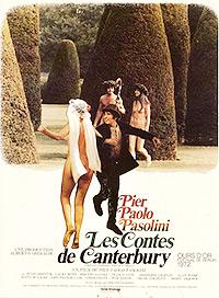 Cartel de la película Los cuentos de Canterbury