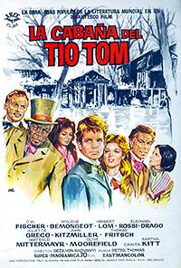 Cartel de la pelicula La cabaña del tio Tom