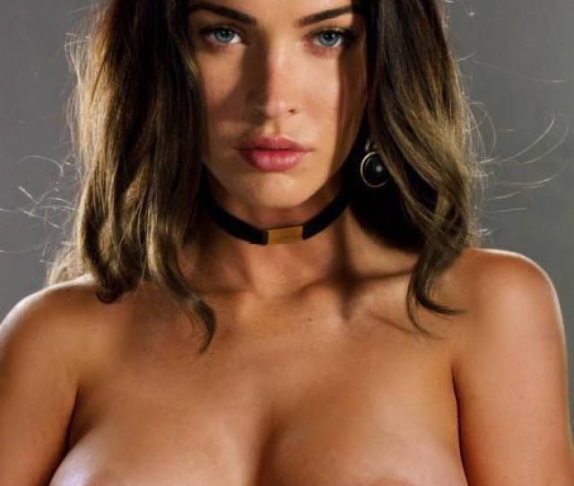 Megan Fox Celebrities Naked
