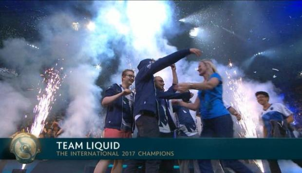 The International 2017 Team Liquid Gan US10 Millones En Competencia De Dota 2 Cheka