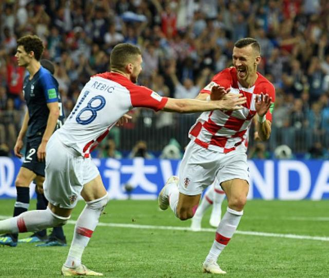 Francia Vs Croacia Getty