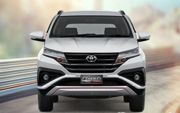Toyota Rush 2018 front view