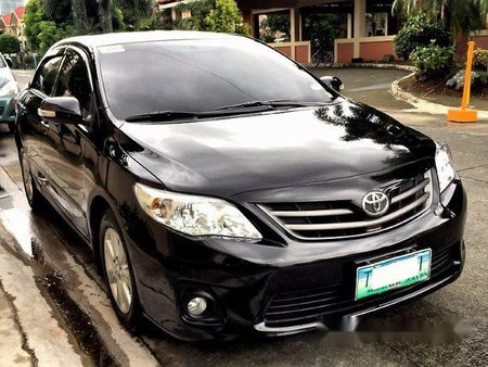 Toyota Corolla Altis 2012 Black For Sale 272489