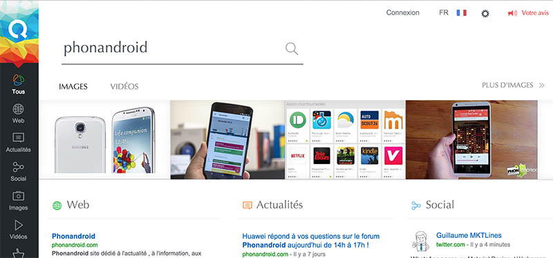 qwant nouvelle interface